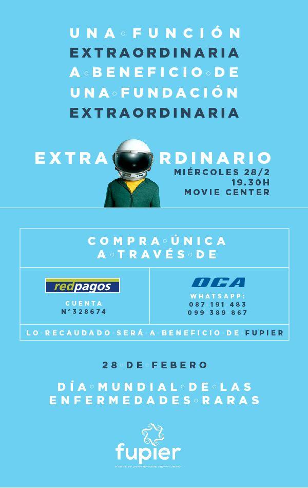 """Película """"Extraordinario"""""""